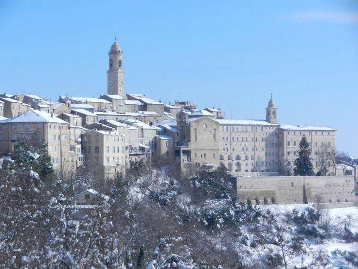 Neve sul paese