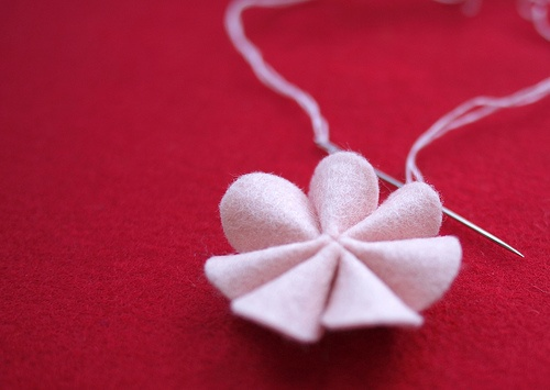 So easy to make this little flower!