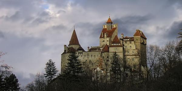 Bram Castle, the inspiration for Castle Dracula, Transylvania with G'Adventures
