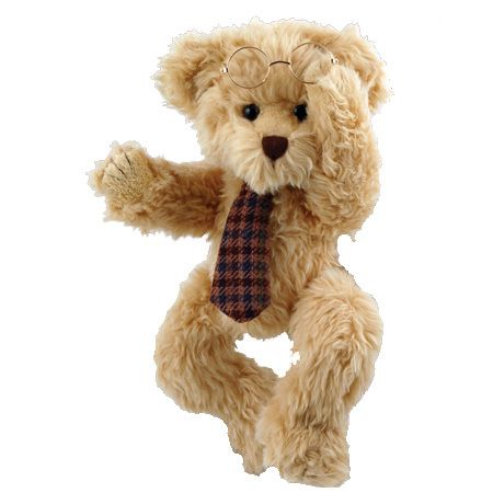 MATHEUSis a handsome teddy bear with a tie and glasses.  #sendateddy #teddybear #toy #gift
