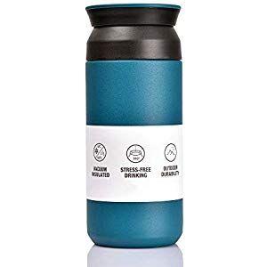 BOHORIA Premium Edelstahl Kaffee-to-Go-Becher Iso…