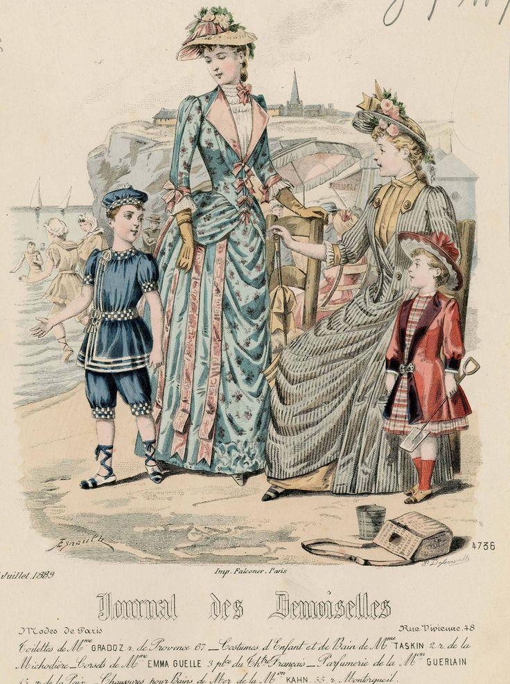 Journal des Demoiselles 1889