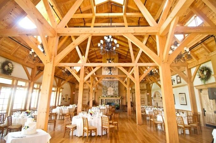 Romantic rustic barn wedding venue {Photo Courtesy of The Red Barn at Outlook Farm}