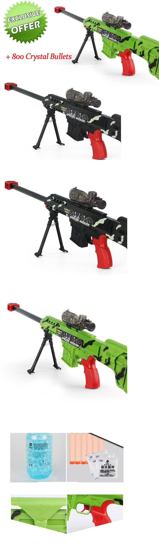 Dart Guns and Soft Darts 158749: Water Bullet Gun Barrett Nerf Strike Dart 800 Crystal Bullets Blaster Elite Toys -> BUY IT NOW ONLY: $79.2 on eBay!