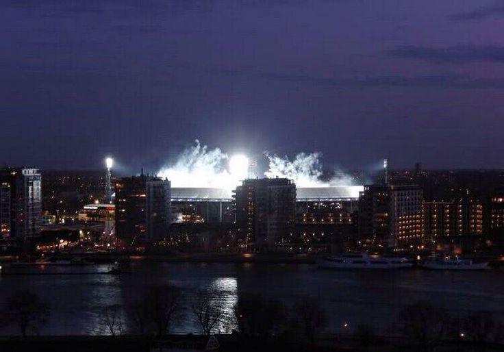 Mooiste stadion van Nederland: de Rotterdamse Kuip
