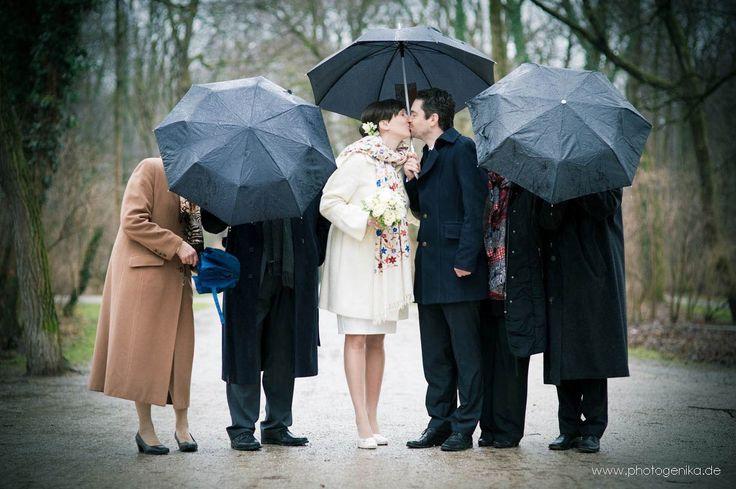 Hochzeitsfotografen München fotografieren modern interpretierte Gruppenfotos