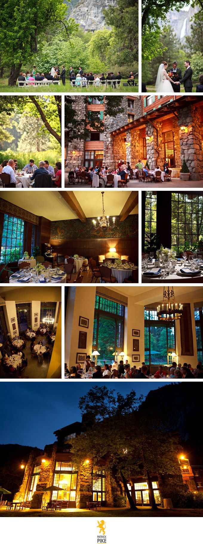 Small and pretty! Weddings at the Ahwahnee Hotel in Yosemite