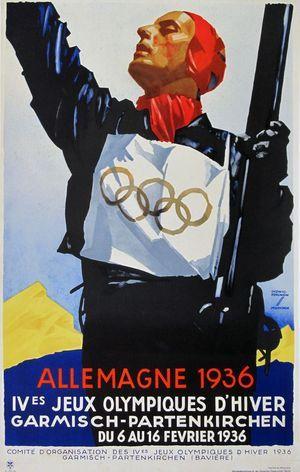 Allemagne 1936 Jeux Olympiques d'Hiver