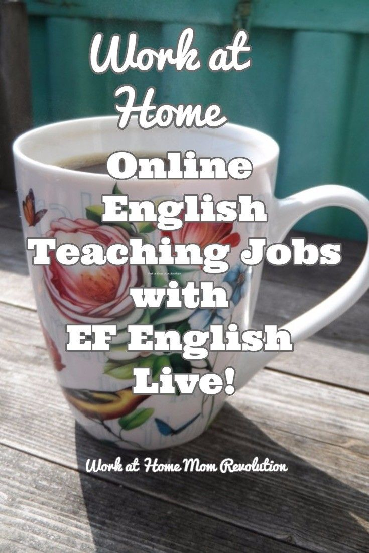 Work at Home English Teaching Jobs with EF English Live