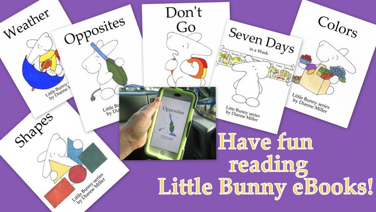 Have fun and learn preschool concepts with Little Bunny eBooks and tons of FREE printables at littlebunnyseries wordpress com