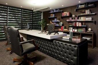 Estilo clássico predomina em escritório de advocacia