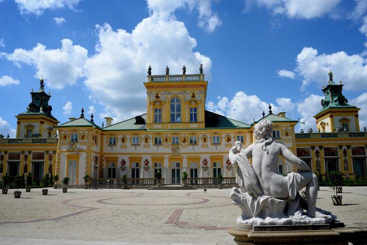 Wilanów Palace, Warsaw. photo: Dennis Faro