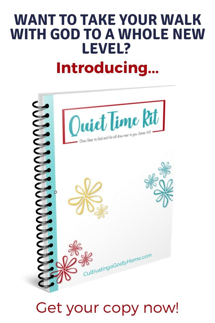 Find out the best way to make your personal devotions special. Spend time  with God using this personal quiet time guide. Includes Bible study plans,  ...
