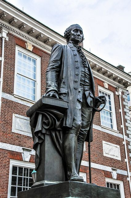 George Washington Statue at Independence Hall (1753) Pennsylvania State House - Philadelphia PA by mbell1975, via Flickr