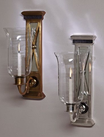 42 best Sconces images on Pinterest   Jars, Decorating ... on Decorative Wall Sconces Candle Holders Chrome id=43003