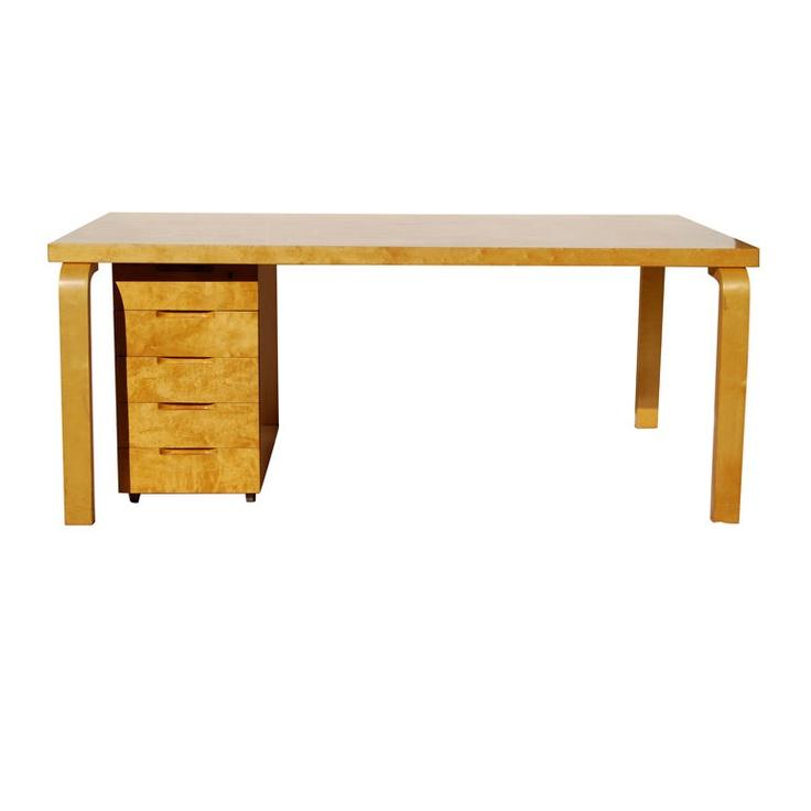 1stdibs   Early and Rare Alvar Aalto Executive Desk