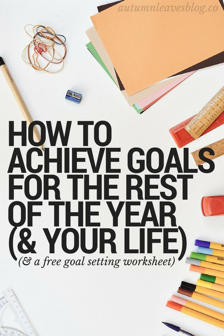 How to achieve your goals in business and blogging