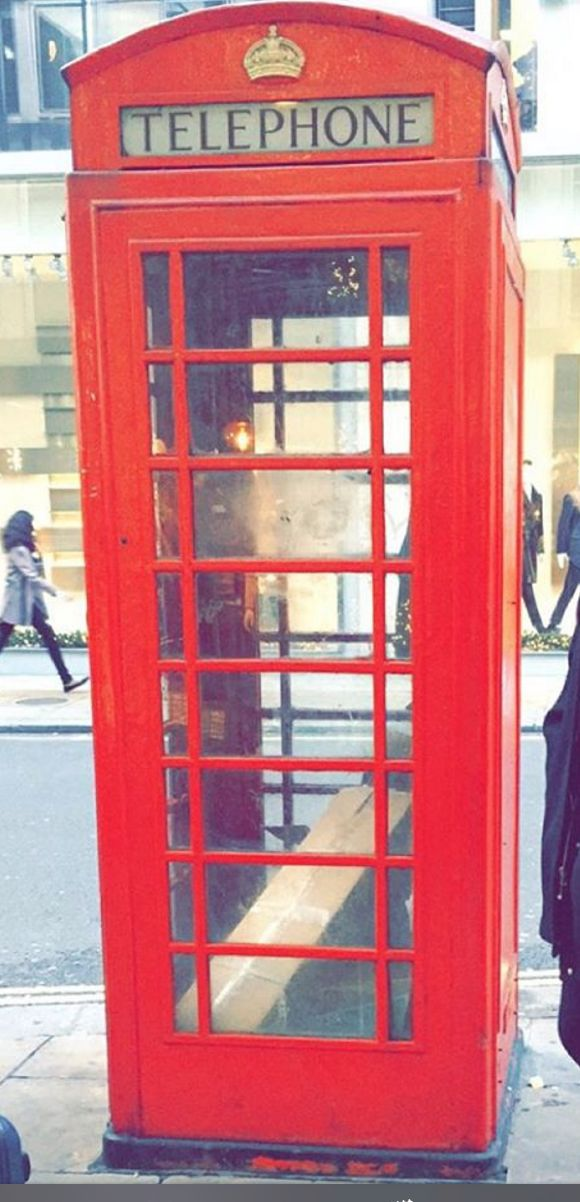 """Classic telephone booth in London. Something which is a """"must"""" to take a photo with for EVERY tourist"""
