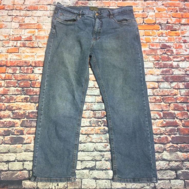 Urban Star Jeans Wear Men's Size 38 X 30Jeans straight leg cotton spandex blend #UrbanStar #ClassicStraightLeg