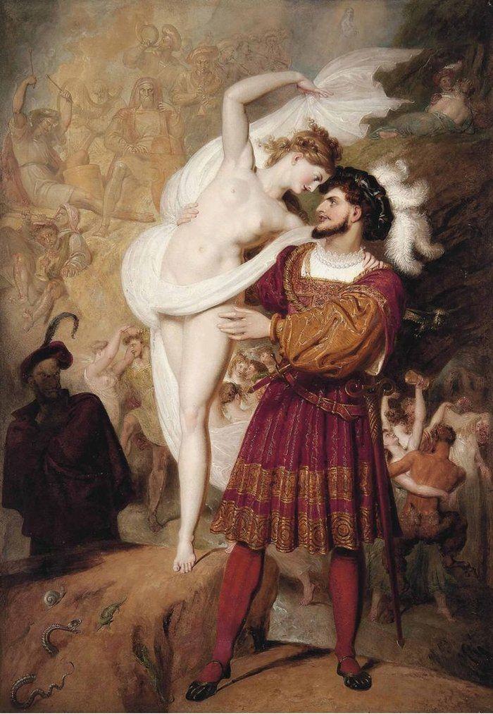 Richard Westall, Faust I Lilit