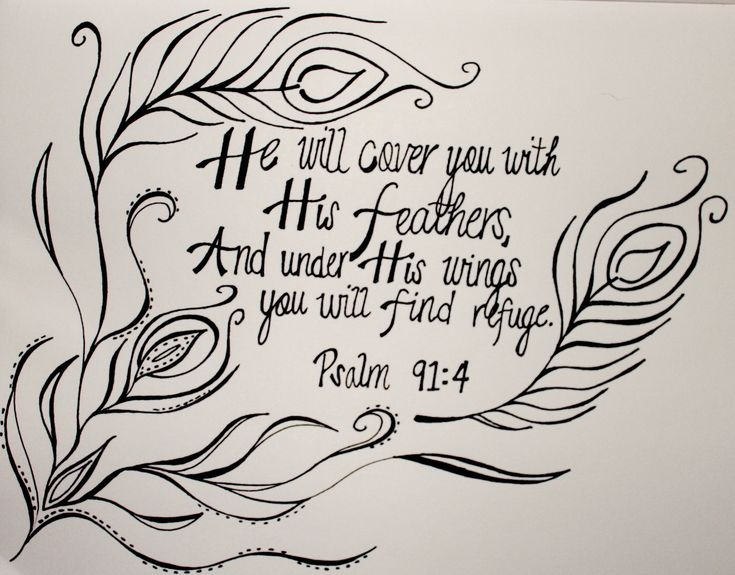 feathers in scripture | Feather: The Doodle Daily | 365motivation