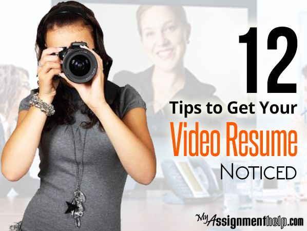 this article shows students the best ways to get their video resume noticed by recruiters