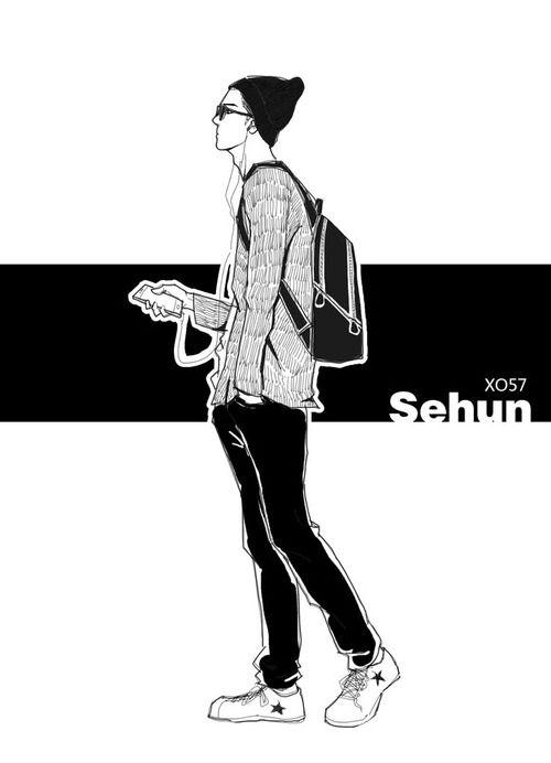 sehun (cr. xo57) #tumblr