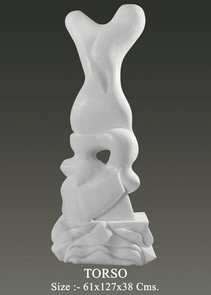 Marble sculpture TORSO Created by:- Neeraj Gupta Medium:-Marble sculpture  Size:-61x127x38cms Price on Demand