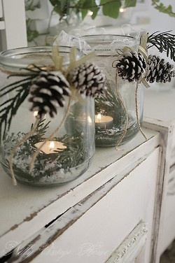 Would make lovely luminaries up the porch steps