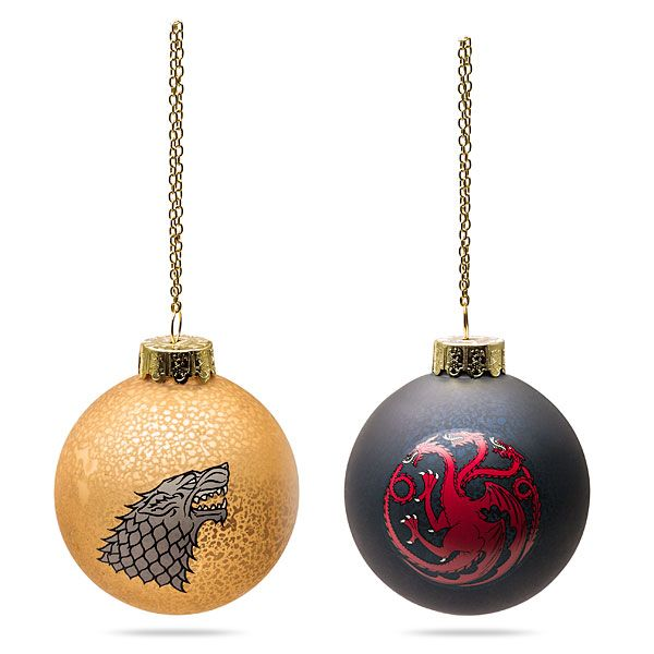 Game of Thrones Ball Ornaments