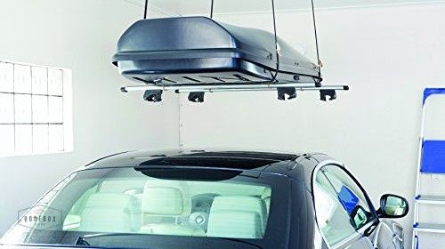 Roof Box Storage Tips : Straps, Mounts or Hoists?