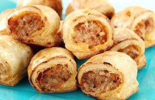 Cheesy Sausage Rolls Recipe