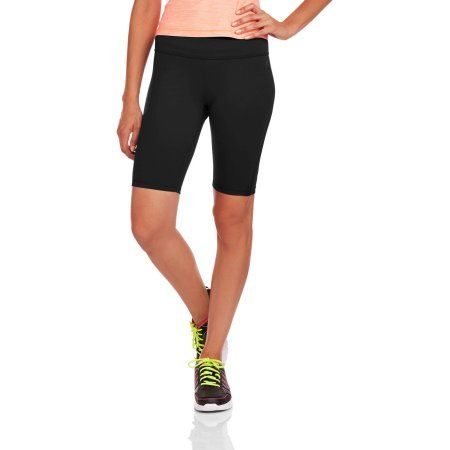 Danskin Now Women's Performance Compression Bermuda Shorts With Wicking Properties, Size: XS, Black