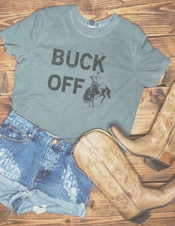 Buck off tee.