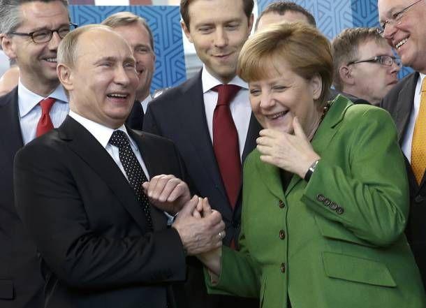 Μέρκελ και Πούτιν στο ευρωπαϊκό Ελ Πάσο για μια χούφτα μαύρα δολάρια ~ Geopolitics & Daily News
