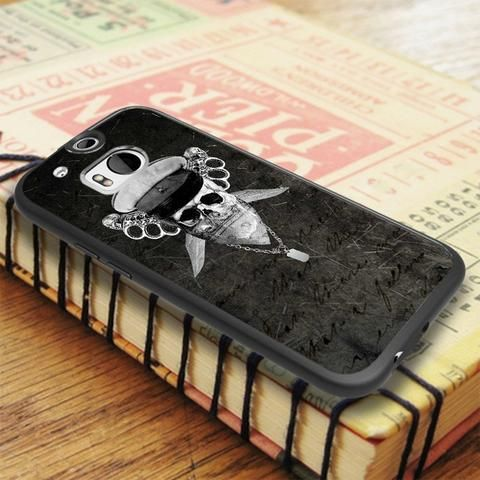 Skull Soldier War Design HTC One M8 Case