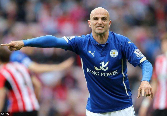 Leicester midfielderEsteban Cambiasso is also said to be on Aston Villa's summer transfer wish-list