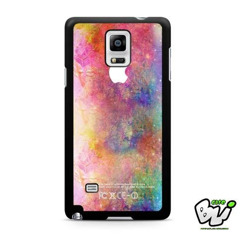 Abstract Water Color Samsung Galaxy Note 4 Case
