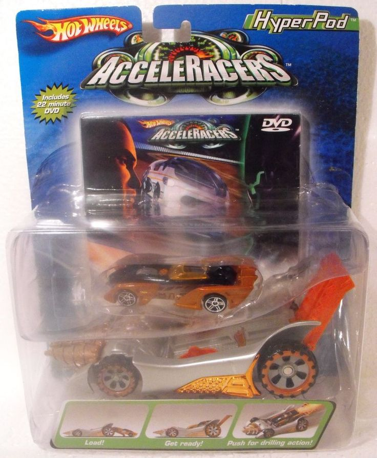 HOT WHEELS Cars **ACCELERACERS HYPERPOD** STORM REALM