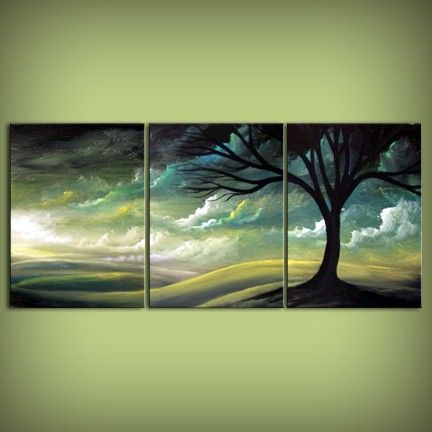 Tryptic Painting Ideas