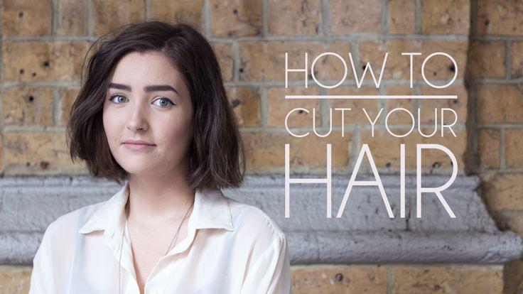 Shop Style Conquer: How to Cut Your Own Hair - Short Hair/Bob