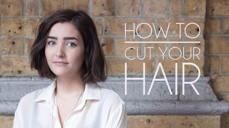 Shop Style Conquer: How to Cut Your Own Hair - Short Hair/Bob