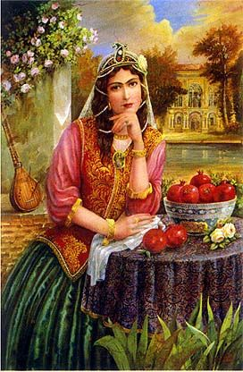 Pomegranate Girl Shakiba