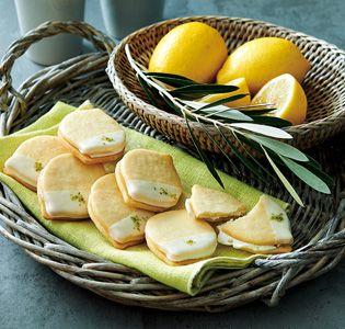 [ヌーヴェルテロワール] 島レモンのホワイトチョコクッキー|グルメ・ギフトをお取り寄せ【婦人画報のおかいもの】