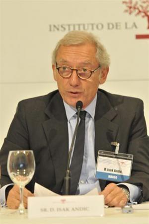 Isak Andic, presidente del Instituto de Empresa Familiar (IEF).