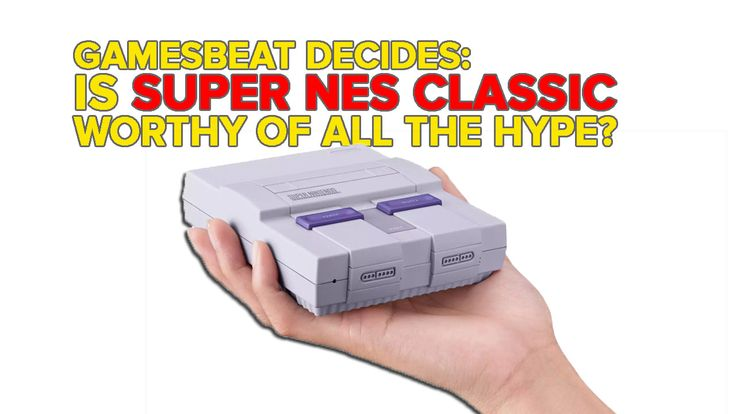 Is the Super NES Classic worthy of the hype? GamesBeat Decides  ||  The Super NES Classic Edition is out this week, and we got our hands on one. On this week's episode of the GamesBeat Decides podcast, host and PC gaming editor Jeffrey Grubb asks co-host and … https://venturebeat.com/2017/09/26/is-the-snes-classic-worthy-of-the-hype-gamesbeat-decides/?utm_campaign=crowdfire&utm_content=crowdfire&utm_medium=social&utm_source=pinterest