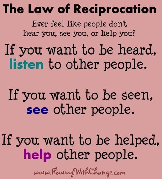Reciprocate Quotes