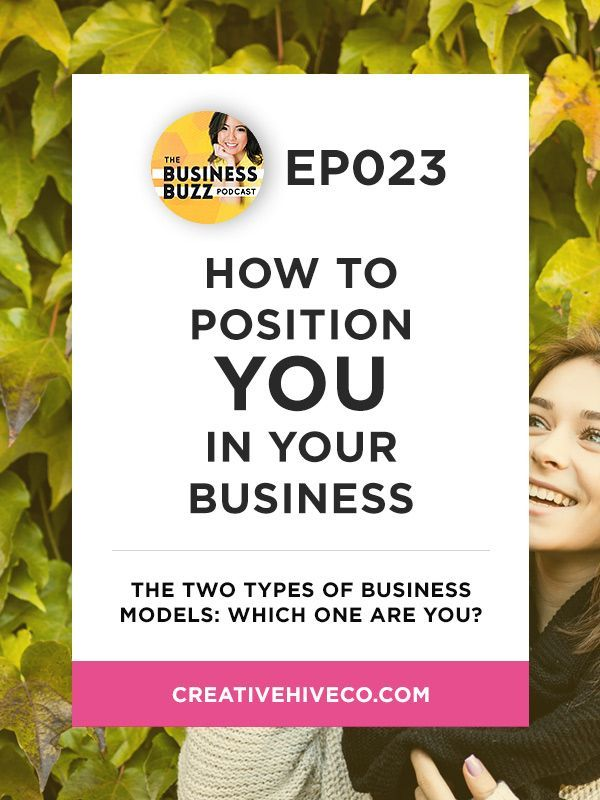 How to Position YOU in Your Business // Mei Pak - Creative Hive