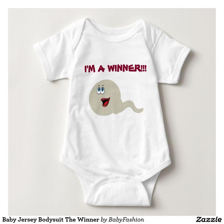 Baby Jersey Bodysuit The Winner