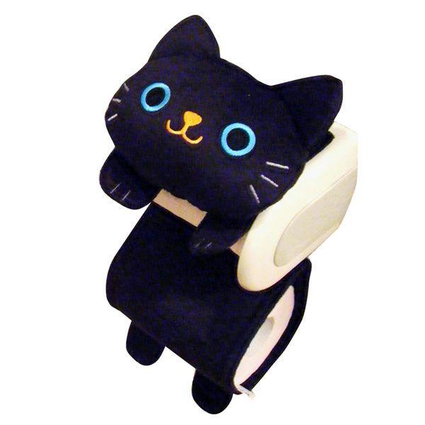 ねこトイレットペーパーホルダーカバー - 猫用品・キャットフード通販ならペット用品 ペピイ